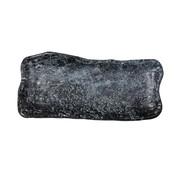 Overige merken Cheforward Schaal marmer zwart 23 x 11 cm, 1 stuk
