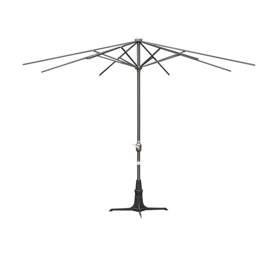 Sediamo Parasolpaal antraciet 3 x 3 m, 1 stuk