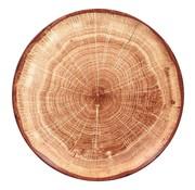 Rak Rak Woodart bord 29 cm timber brown, 1 stuk