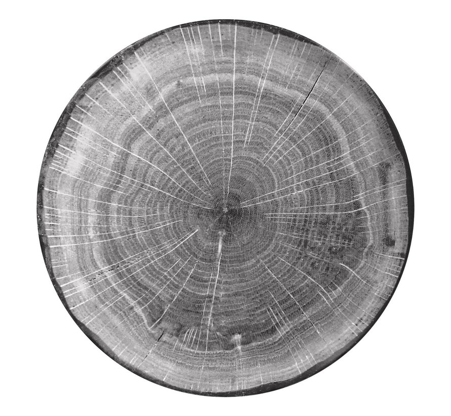 Rak Woodart bord 27 cm beech grey, 1 stuk