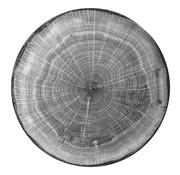 Rak Rak Woodart bord 24 cm beech grey, 1 stuk