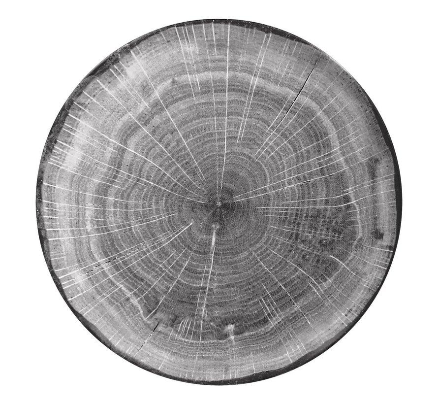 Rak Woodart bord 24 cm beech grey, 1 stuk