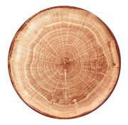 Rak Rak Woodart bord 27 cm timber brown, 1 stuk