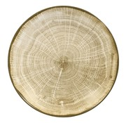Rak Rak Woodart bord coupe diep 23 cm, green, 1 stuk