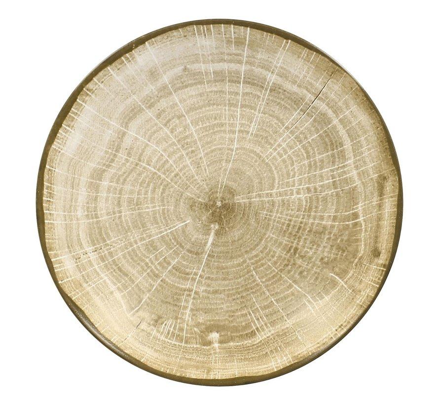 Rak Woodart bord coupe diep 23 cm, green, 1 stuk