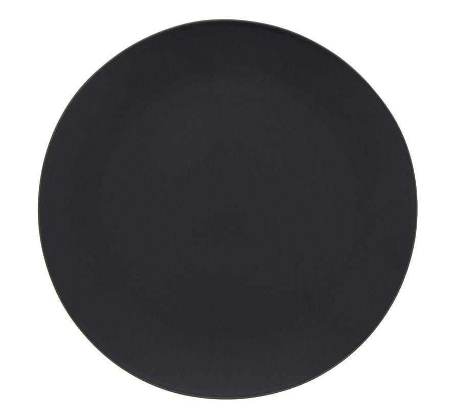 Gastro Bord zwart rond model, 26,5 cm, 1 stuk