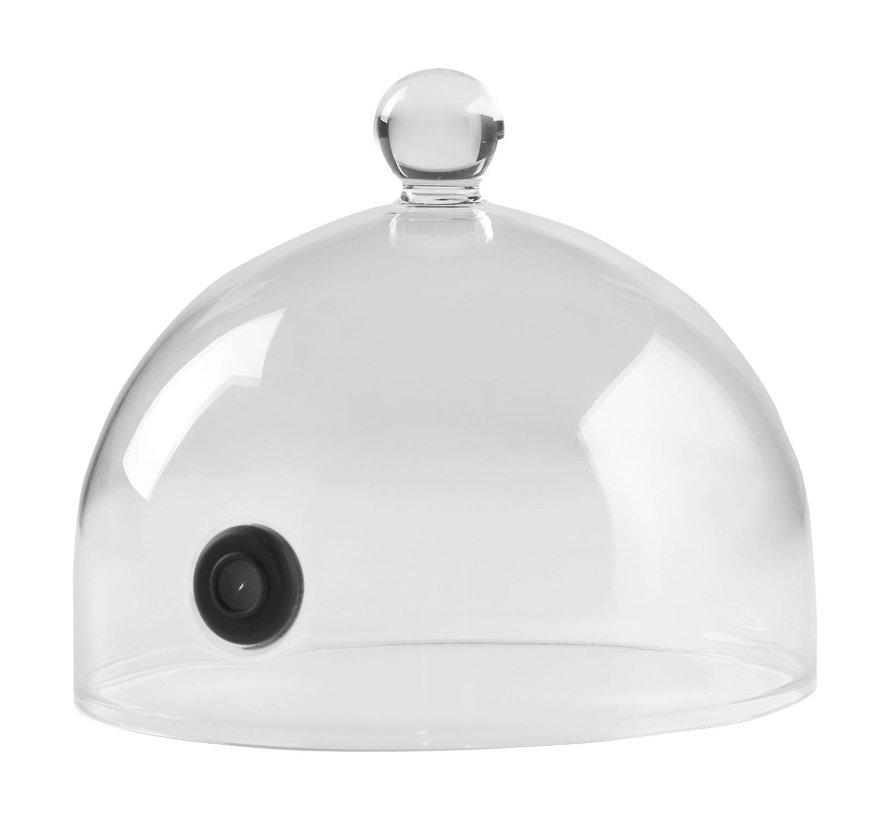100%Chef Cloche, glas, 14 cm, 1 stuk