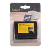 Overige merken Securit Tafelbord zwart, acrylic, A8, 5 stuks