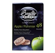 Overige merken Bradley Aromabisquetten appel, 48 stuks