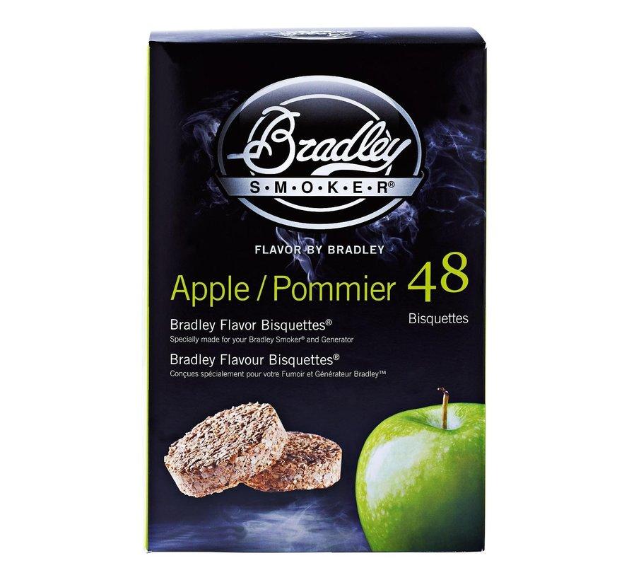 Bradley Aromabisquetten appel, 48 stuks