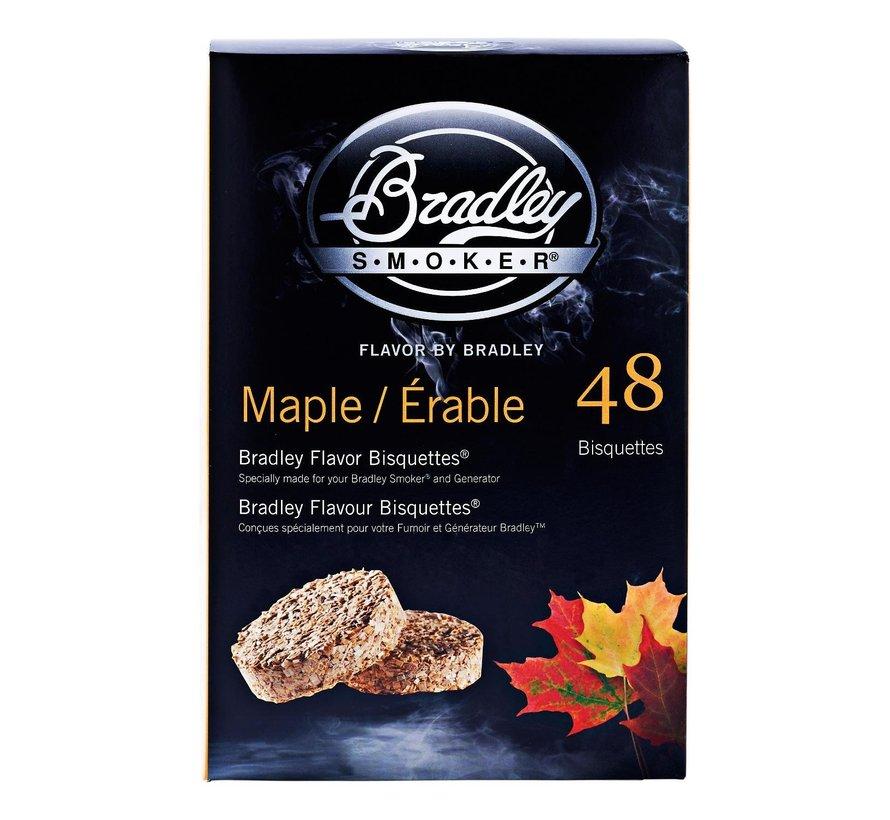 Bradley Aromabisquetten esdoorn, 48 stuks