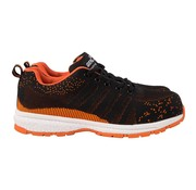 Overige merken Gerba Veiligheidssneaker Finley laag oranje S1P maat 45, 1 paar