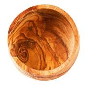 Overige merken Bowl&Dishe Schaal van olijfhout, laag 6 cm, 1 stuk
