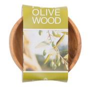 Overige merken Bowl&Dishe Schaal van olijfhout, laag 8 cm, 1 stuk