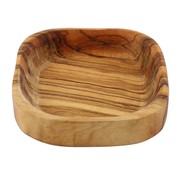 Overige merken Bowl&Dishe Schaal van olijfhout, laag 10 cm, 1 stuk