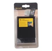 Overige merken Securit Tafelstandaard stapelbaar, zwart, 5 stuks