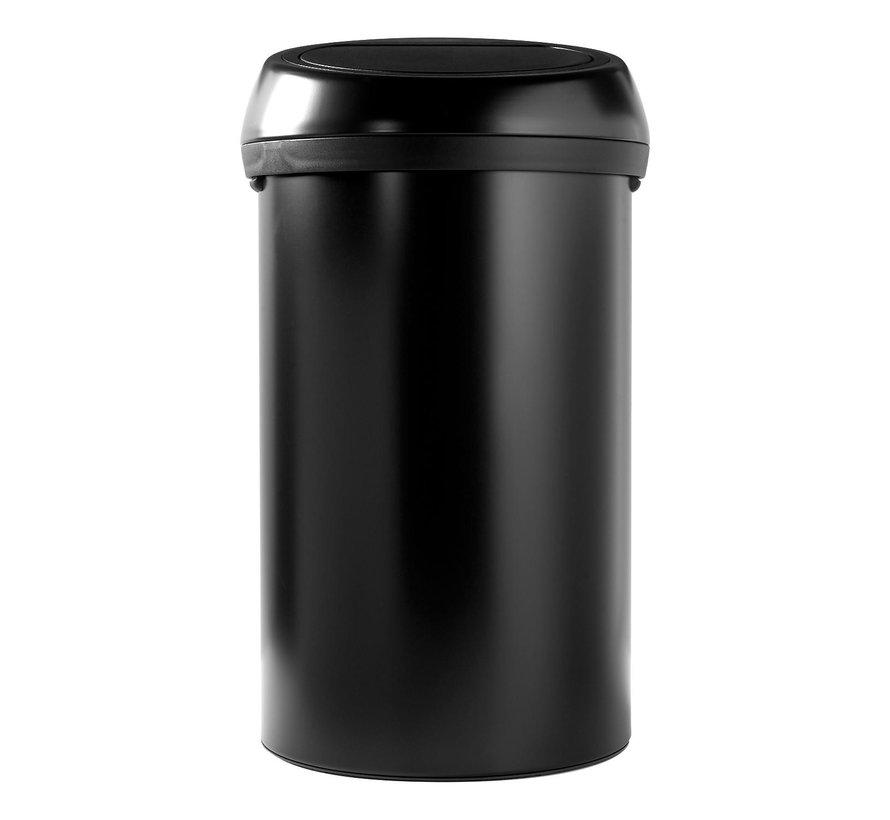 Brabantia Afvalemmer Touch Bin 60 L, black, 1 stuk