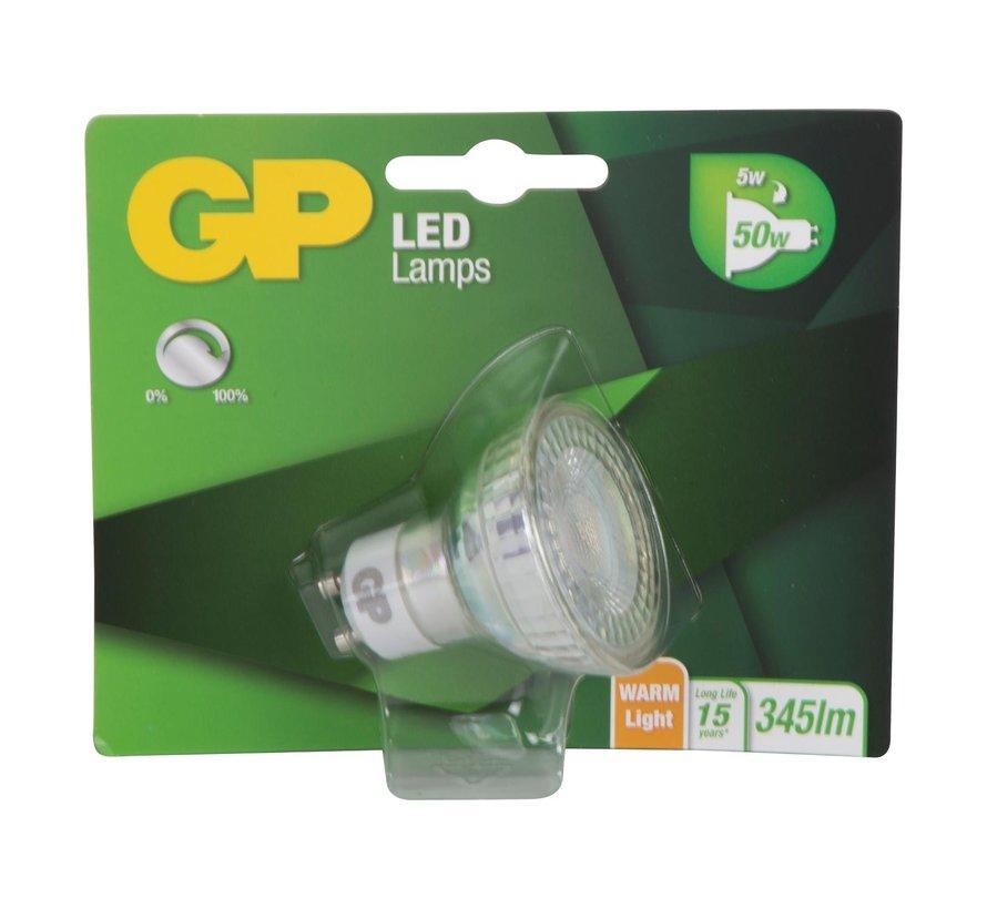 Gp LED-lamp reflector Glass 5W-50W GU10, 1 stuk