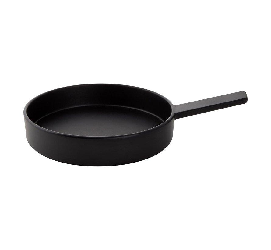 Cheforward Serveerpan 25,5 cm, zwart, 1 stuk