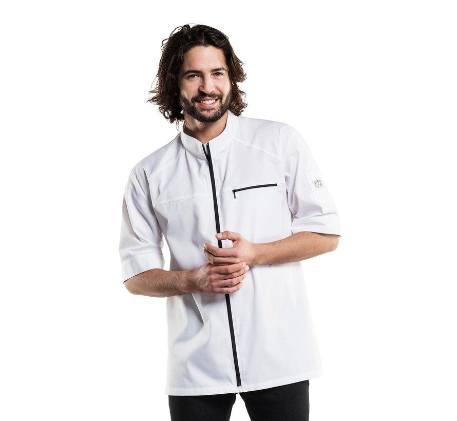 Chaud Devant Koksbuis modena UFX korte mouwen XL, wit, 1 stuk