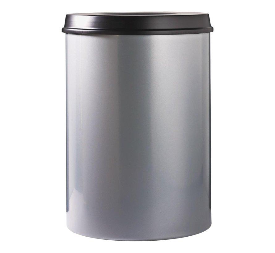 V-part vlamdover aluminium, zwarte top, 20 liter