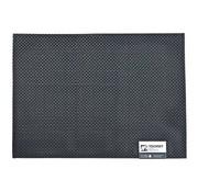 Overige merken Aps Placemat 45 x 33 cm, zwart, 1 stuk