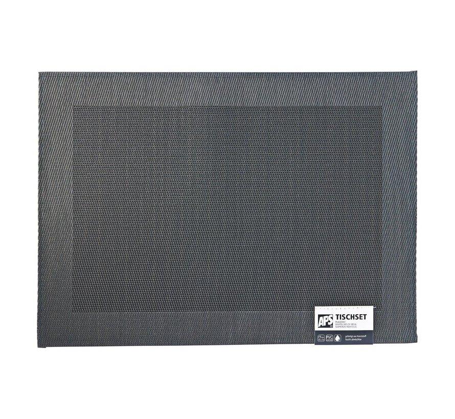 Aps Placemat frames 45 x 33 cm, zwart, 1 stuk
