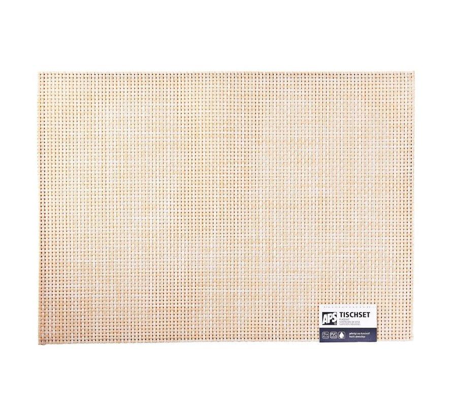 Aps Placemat 45 x 33 cm, beige, 1 stuk