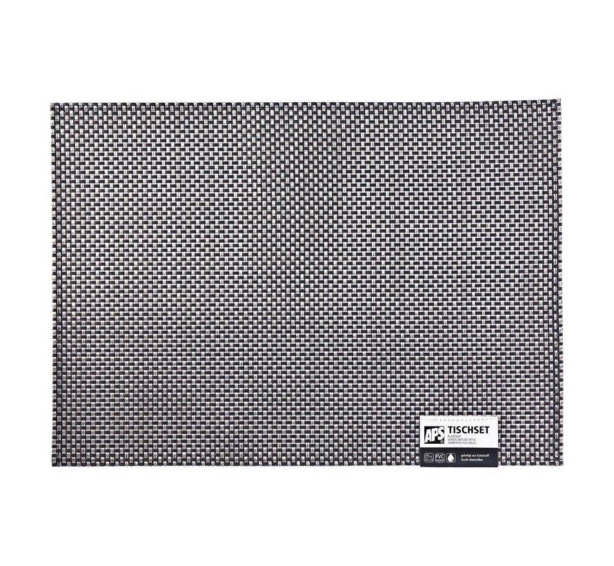 Aps Placemat 45 x 33 cm, zilver, 1 stuk