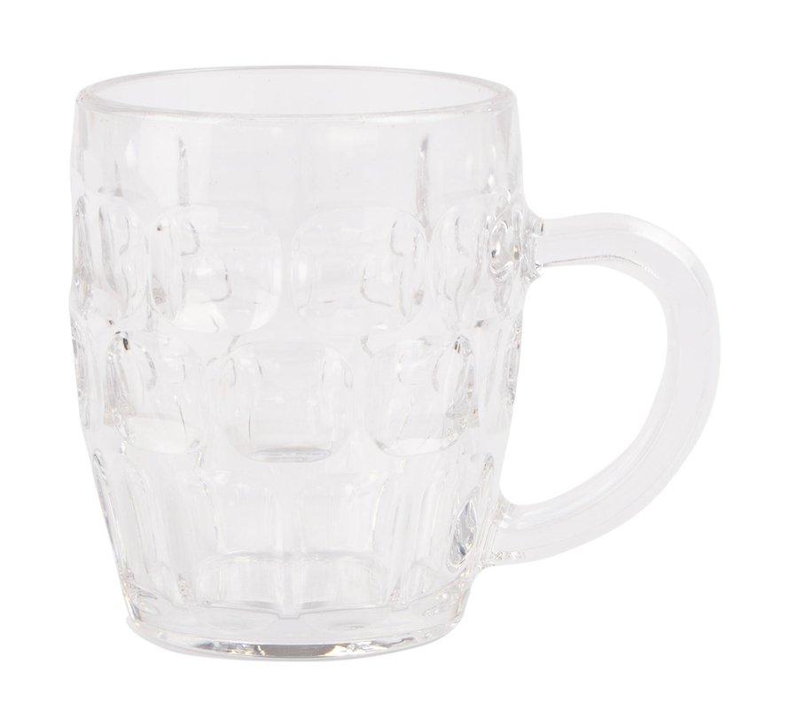 Bierpul 35 cl kunststof, 1 stuk