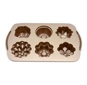 Overige merken Pro Chef Bakvorm bloem mini, 1 stuk