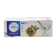 Overige merken Duralex Gigogne ijscoupe transparant, 25 cl, 6 stuks