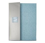 Overige merken Slimline Dekbedovertrek kjeld percal 140 x 200 / 220 cm, sky blue, 1 stuk