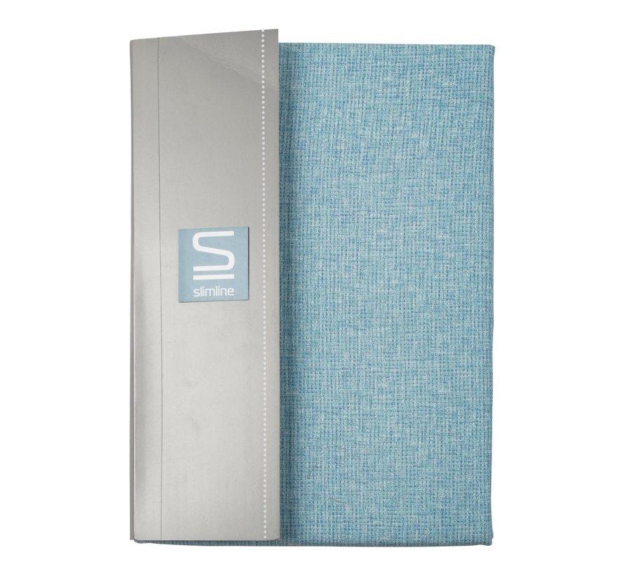 Slimline Dekbedovertrek kjeld percal 140 x 200 / 220 cm, sky blue, 1 stuk