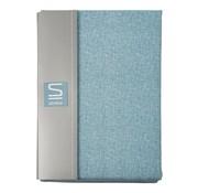 Overige merken Slimline Dekbedovertrek kjeld percal 240 x 200 / 220 cm, sky blue, 1 stuk