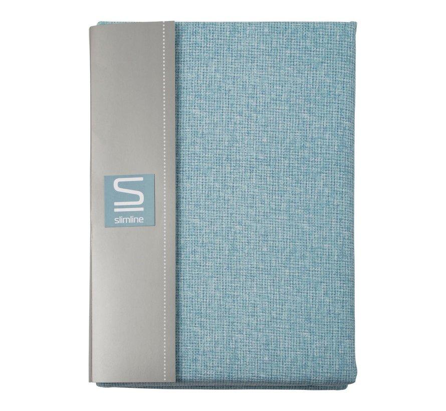 Slimline Dekbedovertrek kjeld percal 240 x 200 / 220 cm, sky blue, 1 stuk
