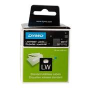 Overige merken Dymo Labeletiket 89 x 28 mm, 2 rollen