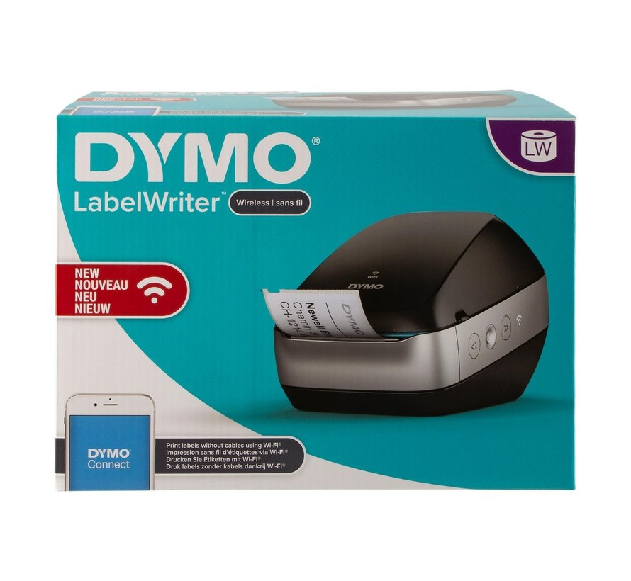 Dymo Labelwriter wireless, zwart, 1 stuk