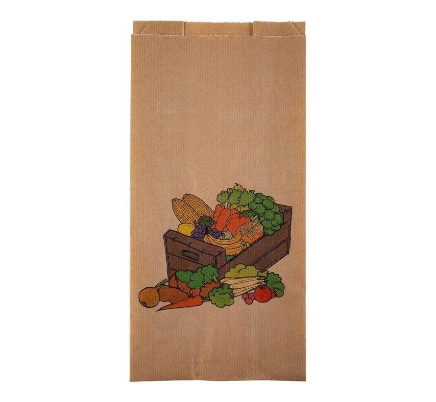 Fruitzak kistje gezond 2 pond 16 / 5 x 33 cm, 1000 stuks