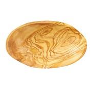 Overige merken Bowl&Dishe Olijfhouten schaal ovaal 16 cm, 1 stuk