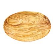Overige merken Bowl&Dishe Olijfhouten schaal ovaal 19 cm, 1 stuk