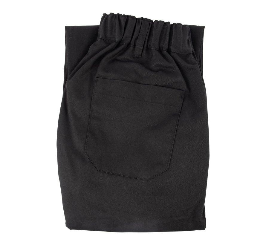 Vitello Koksbroek maat XL, zwart, 1 stuk