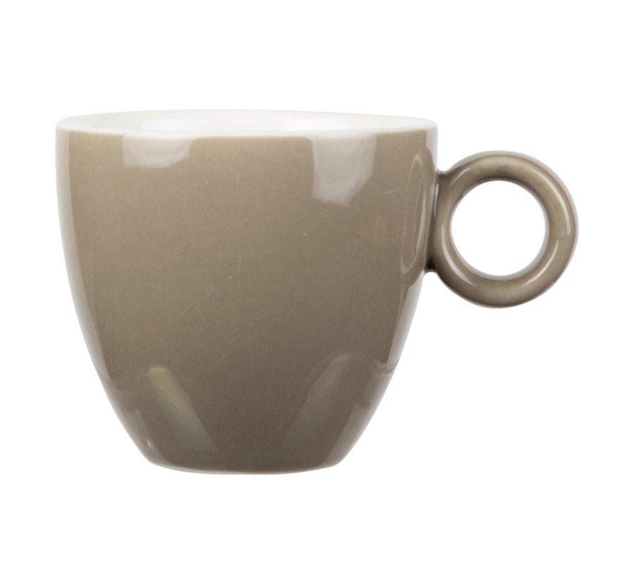 Maastricht Kop koffie 17 cl, mud, 1 stuk