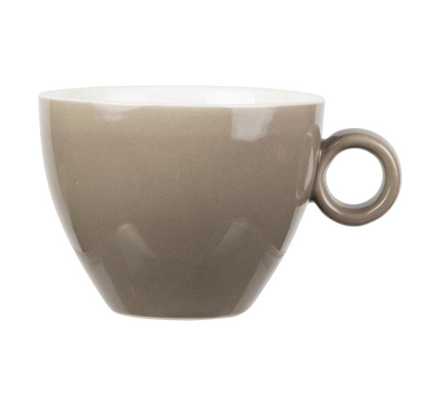 Maastricht Kop cappuccino 23 cl, mud, 1 stuk