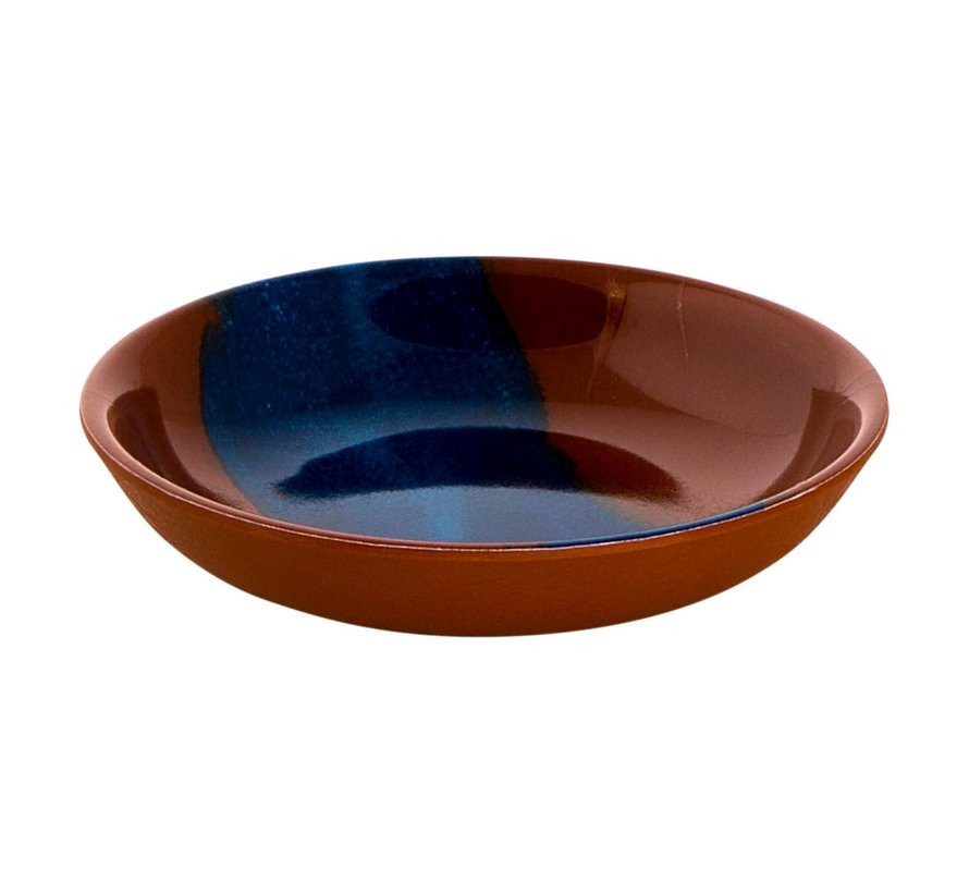 Cheforward Schaal 10 cm, terra-blauw, 1 stuk