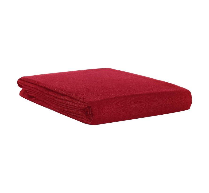 Slimline Tafellaken uniline 138 x 240 cm, rood, 1 stuk