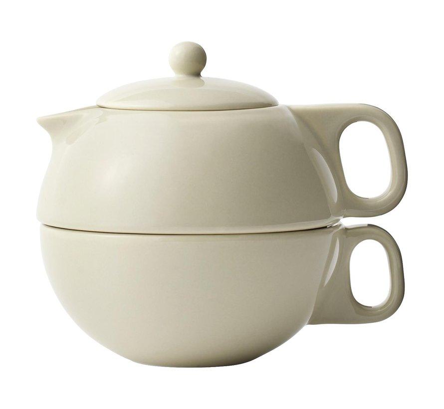 Viva Theepot tea for one 0,3 liter, beige, 1 stuk
