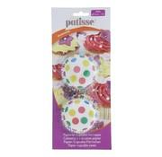 Overige merken Patisse Papieren cupcake vormpjes Confetti 3 cm, 200 stuks