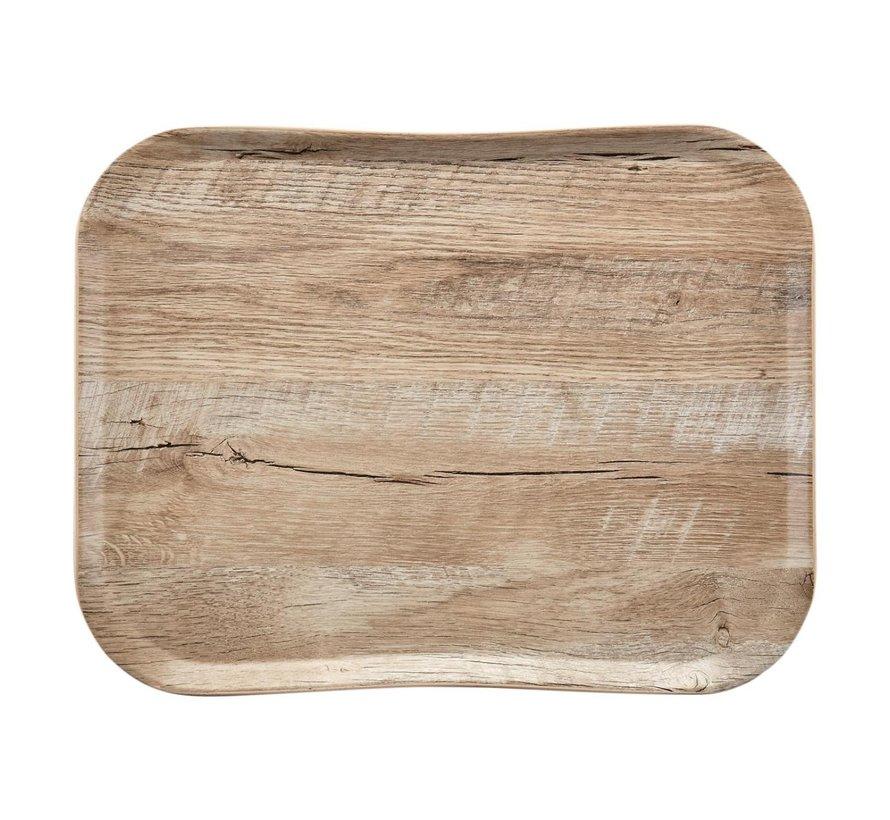 Cambro Dienblad 33 x 43 cm, houtlook light oak, 1 stuk