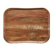Overige merken Cambro Dienblad 33 x 43 cm, houtlook brown oak, 1 stuk